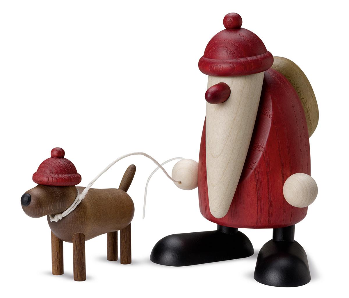 Weihnachtsmann Dackel Waldemar