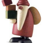 Weihnachtsmann Geschenke tragend