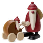 Weihnachtsmann Kinderwagen