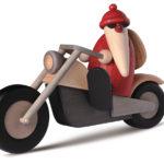 Weihnachtsmann Motorrad